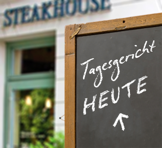 Theos Steakhouse Neuruppin - Tagesgericht